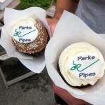 Parks... cupcakes?!? Okay. Sure.